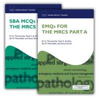 SBA MVQS and EMQS for the MRCS Part A Pack by Sri G. Thrumurthy, Tania S. De Silva, Zia M. Moinuddin, Stuart Enoch
