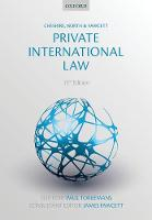 Cheshire, North & Fawcett: Private International Law by Ugljesa (Lecturer, University College London) Grusic, Christian (Professor, Institute for Legal Informatics, Leibniz Un Heinze