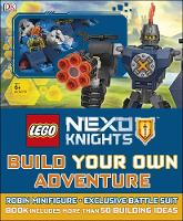 LEGO NEXO KNIGHTS Build Your Own Adventure by DK, Simon Hugo