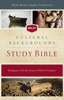 NKJV, Cultural Backgrounds Study Bible, Hardcover, Red Letter Edition Bringing to Life the Ancient World of Scripture by Craig S. Keener