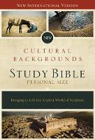 NIV, Cultural Backgrounds Study Bible, Personal Size, Imitation Leather, Pink/Brown, Indexed, Red Letter Edition Bringing to Life the Ancient World of Scripture by Craig S. Keener