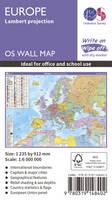Europe Lambert Projection by Ordnance Survey