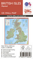 British Isles Physical by Ordnance Survey