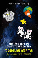 Cover for The Hitchhiker's Guide to the Galaxy by Douglas Adams