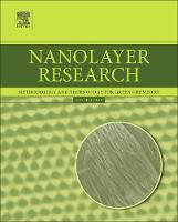 Nanolayer Research Methodology and Technology for Green Chemistry by Toyoko (Research Center for Materials Science, Nagoya University, Chikusa, Nagoya, Japan) Imae