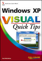 Windows XP Visual Quick Tips by Paul McFedries