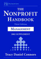 The Nonprofit Handbook Management 2002 Supplement by Tracy D. Connors