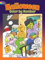 Halloween Color by Number by Becky J. Radtke