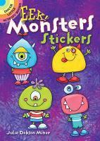 EEK! Monsters Stickers by Julie Miner
