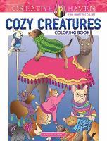 Creative Haven Cozy Creatures Coloring Book by Jessica Mazurkiewicz