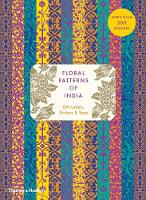 Floral Patterns of India: Sticker & Tape Book by Henry Wilson