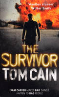 Cover for The Survivor by Tom Cain