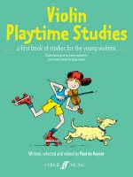 Violin Playtime Studies (Solo Violin) by Paul de Keyser