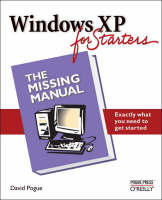Windows XP for Starters by David Pogue