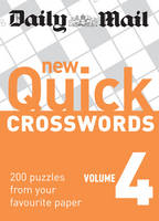New Quick Crosswords 200 Puzzles from Your Favourite Paper by Daily Mail