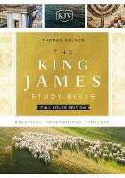 The King James Study Bible, Cloth over Board, Full-Color Edition by Thomas Nelson