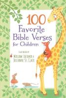 100 Favorite Bible Verses for Children by Thomas Nelson