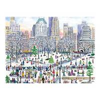 Michael Storrings Winter in Central Park 1000 Piece Puzzle by Michael Storrings, Galison