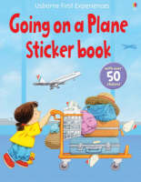 Usborne First Experiences Going on a Plane Sticker Book by