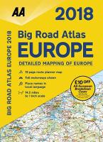 AA Big Road Atlas Europe by AA Publishing