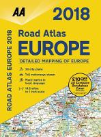 AA Road Atlas Europe by AA Publishing
