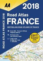 AA Road Atlas France by AA Publishing