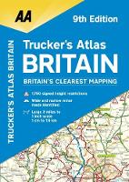 AA Trucker's Atlas Britain by AA Publishing