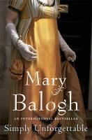 Cover for Simply Unforgettable by Mary Balogh