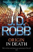 Cover for Origin in Death by J D Robb