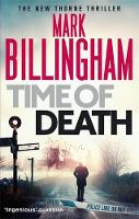 Cover for Time of Death by Mark Billingham