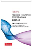 Tolley's National Insurance Contributions 2017-18 Main Annual by David Heaton