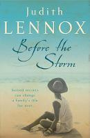 Cover for Before the Storm by Judith Lennox