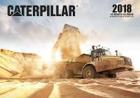 Caterpillar 2018 16 Month Calendar Includes September 2017 Through December 2018 by Editors of Motorbooks