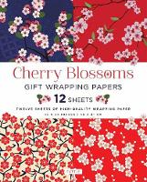 Cherry Blossoms Gift Wrapping Papers by Tuttle Publishing