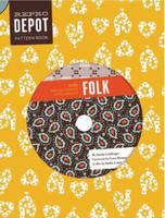 Reprodepot Pattern Book Folk - 225 Vintage-Inspired Textile Designs by Djerba Goldfinger