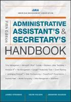 Administrative Assistant's & Secretary's Handbook by James Stroman, Kevin Wilson, Jennifer Wauson