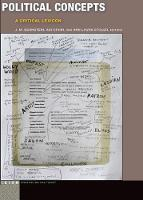 Political Concepts A Critical Lexicon by Adi Ophir, Ann Laura Stoler