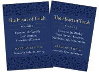 The Heart of Torah, Gift Set Essays on the Weekly Torah Portion by Shai Held, Yitz Greenberg