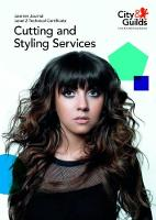 Level 2 Technical Certificate in Cutting and Styling Services: Learner Journal by