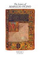 The Letters of Marsilio Ficino by Arthur Farndell