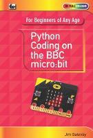 Python Coding on the BBC Micro:Bit by Jim Gatenby