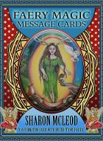 Faery Magic Message Cards 70 Affirmation Cards with Instructions for Use by Sharon (Sharon McLeod) McLeod