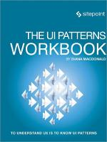 The UI Patterns Workbook by Diana MacDonald