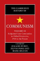 The Cambridge History of Communism by Juliane (University of Bristol) Furst