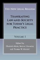 The New Legal Realism Translating Law-and-Society for Today's Legal Practice by Professor Elizabeth Mertz