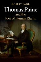 Thomas Paine and the Idea of Human Rights by Robert Lamb