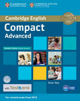 Compact Advanced Student's Book Without Answers with CD-ROM with Testbank by Peter May
