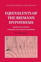 Equivalents of the Riemann Hypothesis 2 Hardback Volume Set by Kevin (University of Waikato, New Zealand) Broughan
