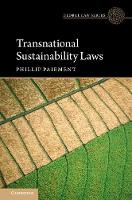 Transnational Sustainability Laws by Phillip (Universiteit van Tilburg, The Netherlands) Paiement