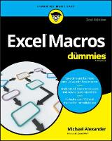 Excel Macros for Dummies, 2nd Edition by Michael (McKinney, TX) Alexander
